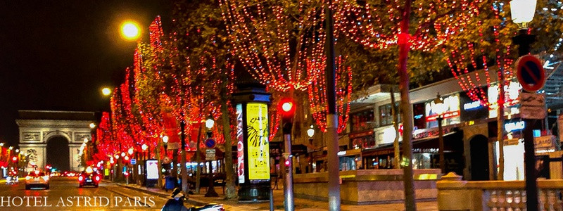 hotel avenue carnot paris